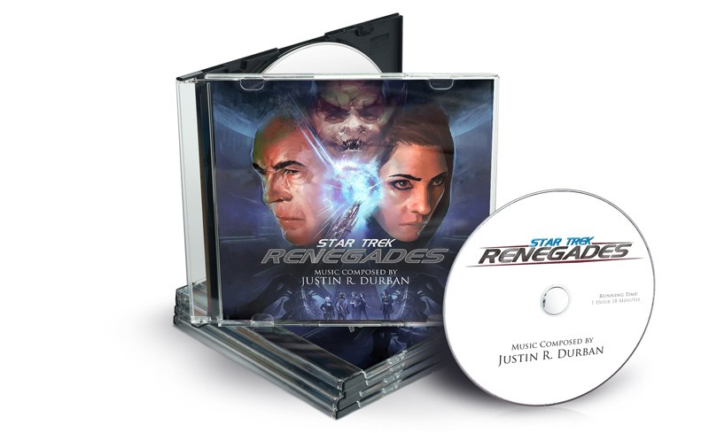 Star Trek: Renegades - CD