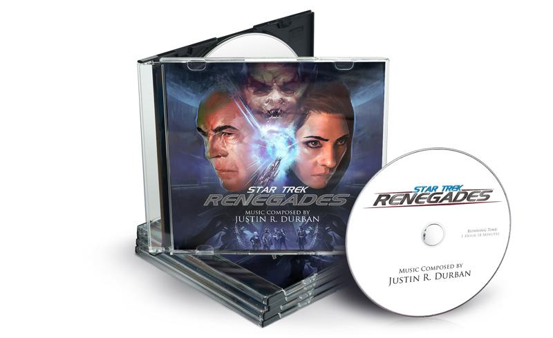 Star Trek: Renegades - CD